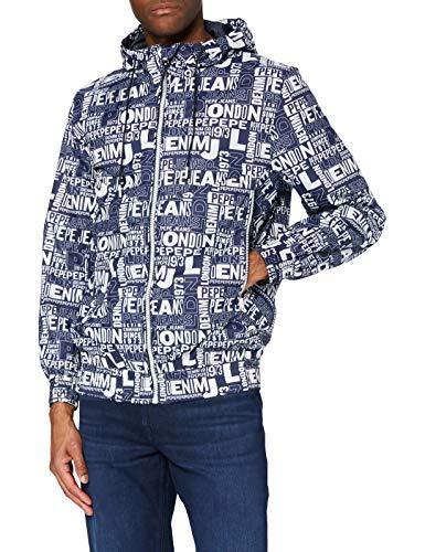 Pepe Jeans Tony Chaqueta, 0aamulti, XL para Hombre