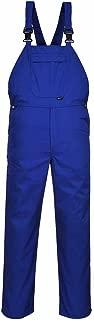 Portwest Basic Bib and Brace - Royal Blue Mens Work Bib Overalls Industrial