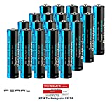 PEARL Batterie 1,5V: Super-Alkaline-Batterien Typ AAA/Micro, 1,5 Volt, 20 Stück (AAA 1,5V)