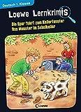 Image of Loewe Lernkrimis - Die Spur führt zum Kellerfenster / Das Monster im Schulkeller: Spannendes Rätselbuch zum Mitmachen und Stärkung der Deutschkenntnisse für die 1. Klasse