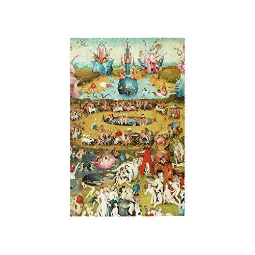 Bosch Garden of Earthly Delights Blotter Art Pappemagnet LSD 13x20cm