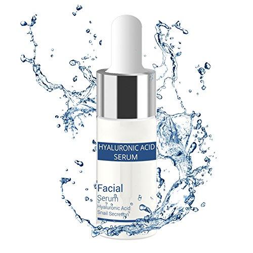 SYMEAS 24 K Or + Sérum Acide Hyaluronique Anti-Aging Réparation Hydratante Essence Liquide Réduit Marques D'acné Rétrécit Pores