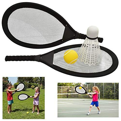 Jumbo-Badmintonschläger-Set, Federball, Garten, Picknick, Kinderspiel, Sport