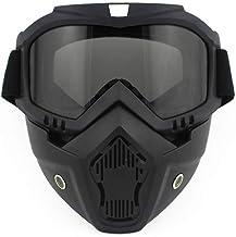 brandless Goggles Motocross Glasses Mask Removable Motorcycle Glasses Cycling Dirt Bike Racer Ski Mask Sunglasses Goggles