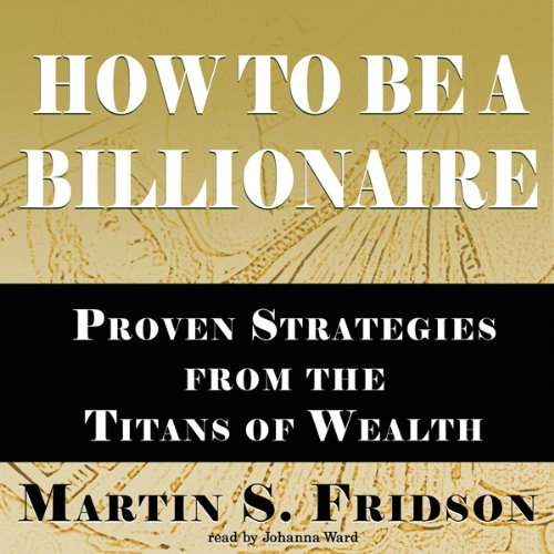 How to Be a Billionaire audiobook cover art