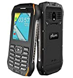 Plum Ram 9-4G Rugged Phone Easy to Use, Whatsapp, Google Assistant, KaiOS T-Mobile Metro Straight Talk