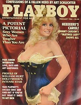 Playboy Magazine February 1984