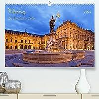 Wuerzburg Die Barockstadt am Main (Premium, hochwertiger DIN A2 Wandkalender 2022, Kunstdruck in Hochglanz): Wuerzburg, ein barockes Juwel am Main (Monatskalender, 14 Seiten )
