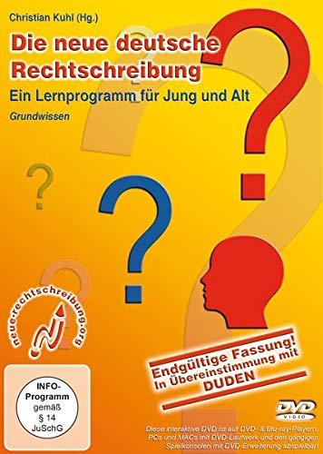 Die neue deutsche Rechtschreibung, Ein Lernprogramm für Jung und Alt, DVD