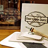 Craftsman Crate Artisanal Arts and Crafts Subscription Box for Teens & Adults with Complete DIY Kits