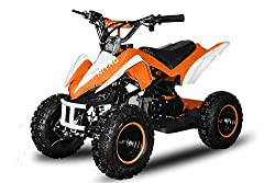 "49cc 2-TAKT Kinder-QUAD PYTHON 6"" in Orange"
