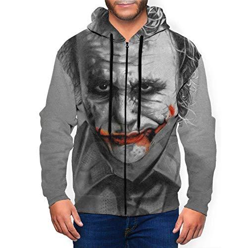 XCNGG Sudadera con Capucha para Hombre Suéter para Hombre Movie J.o.k.e.r Mens Womens Hoodies 3D Printed Pullover Hooded Casual Funny Pullover Sweatshirt
