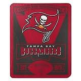 Northwest The Group NFL Tampa Bay Buccaneers Marque Fleece Throw Blanket, 50'' x 60''', Team Color