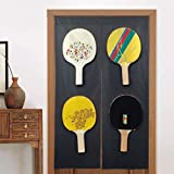 Libingao Doorway Curtain Noren Table Tennis Ping Pong Door Way Curtain Panel, Room Dividers Fengshui Curtain,...