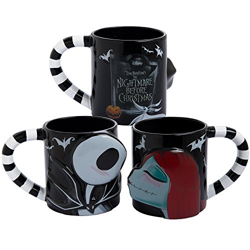 Vandor 84001 The Nightmare Before Christmas 20 Oz. Mug Set