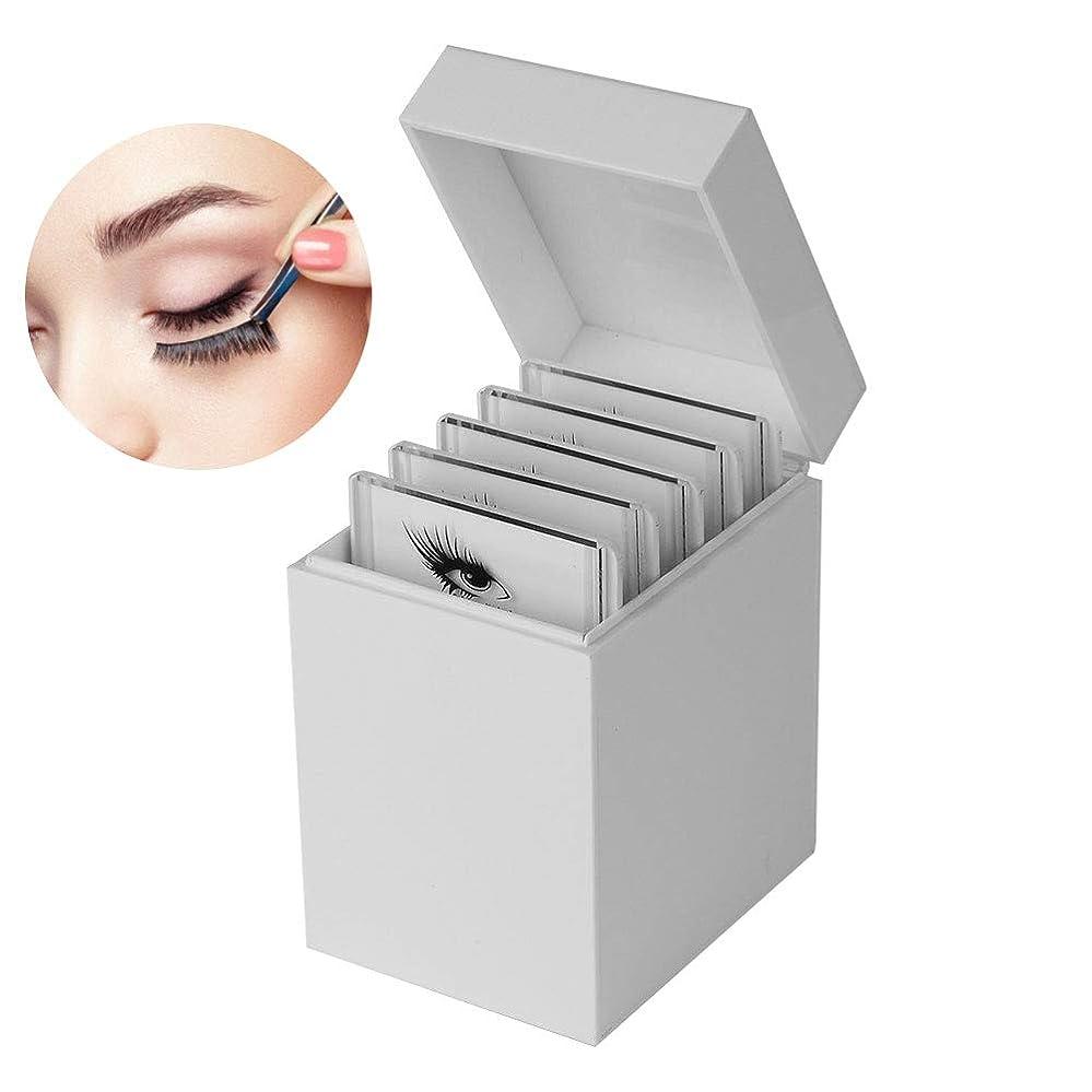 まつげ収納ボックス 10層 まつげディスプレイ ホルダーケース化粧オーガナイザー