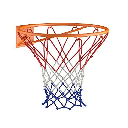 OSKAR Basketballkorb 45cm in orange aus witterungsbeständigem Material inkl. Befestigungsmaterial Zubehör