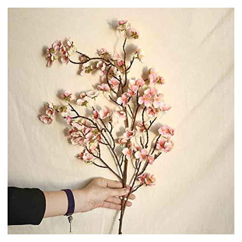 Zxebhsm Künstliche Blumen Künstliche Kirsche Pfirsich Blossom Gefälschte Seide Blume Hause Hochzeit Party Floral Decor Gefälschte Blumen Lange Bouquet Herbst (Farbe : D)