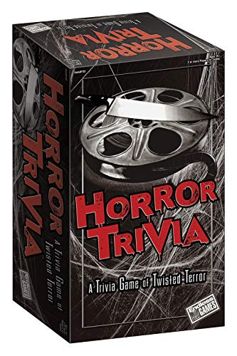 Endless Games Horror Trivia Card Game - Scary Fun Halloween Game for Teens and Adults, Multicolor