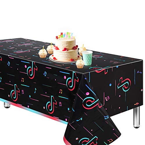 TIK Tok Tablecloth