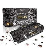 BestTrap - Juego de 11 trampas para cucarachas con Cebo Incluido, Trampa de Pegamento Premium, Respetuoso con el Medio Ambiente, no tóxico, para arañas, Hormigas y cucarachas