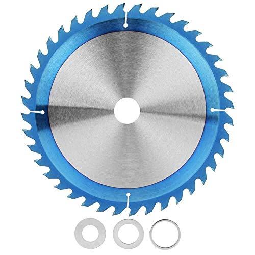 ZGQA-GQA Hoja de sierra circular TCT multi-material, acero chapado en azul NA de corte para madera, metal y plástico disco 250x3.0x30x40T