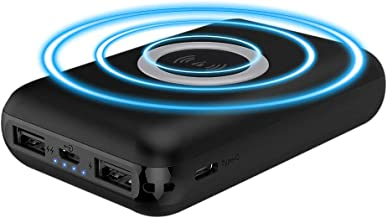 Jarv Power Plus Wireless 10,000mAh Powerbank with 5W Wireless Charge Pad