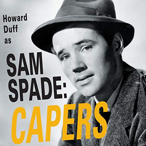 The Adventures of Sam Spade audiobook cover art