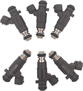 مجموعة حاقن الوقود JESBEN FBJC100 FJ653 6 قطع استبدال ل Infiniti G35 350Z 3.5L 2003-2004 Pathfinder 3.5L 2002-2004 QX4 3.5...