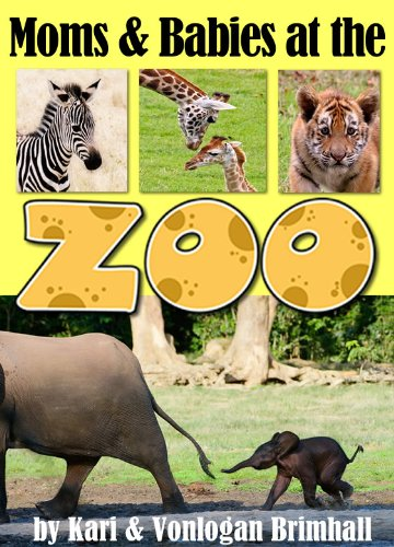 Moms and Babies at the Zoo (English Edition)