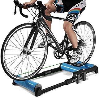 Klevsoure Rodillos de Entrenador de Bicicleta Interior