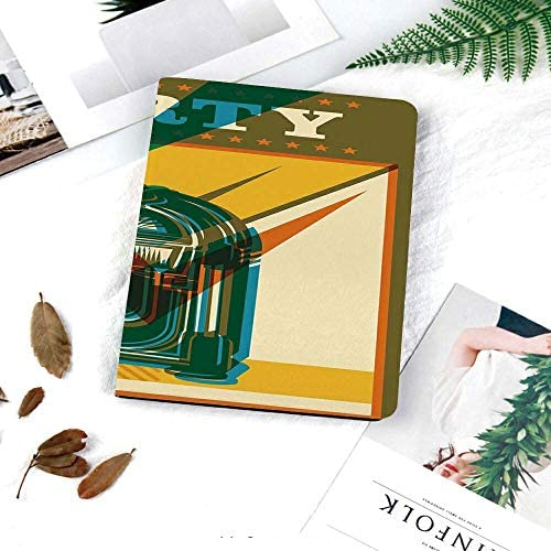 Printed Smart Case for iPad 9 7 2018 2017 Lightweight Smart Cover with Auto Sleep Wake Hard product image
