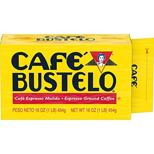 Café Bustelo Coffee Espresso Ground Coffee Brick, 16 Ounces