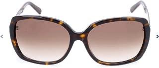 Women's Darilynn DARILS Square Sunglasses, Havana Brown/Warm Brown Gradient, 58 mm