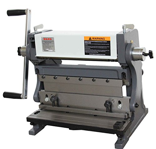 KAKA Industrial 3-In-1/12, Sheet Metal Brake, 12-Inch Shear Brake Roll Combinations, Solid Construction, High Precision Sheet Metal Brakes, Shears and Slip Roll Machine
