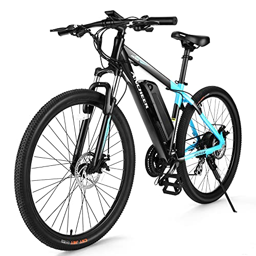 ANCHEER 350/500W Electric Bike 27.5'' Adults Electric Commuter Bike/Electric Mountain Bike, 36/48V Ebike...