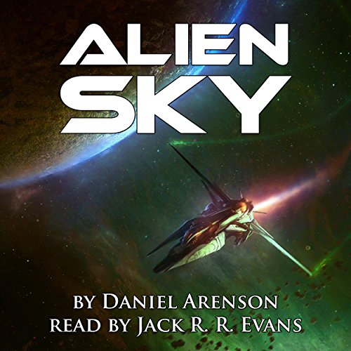 Alien Sky audiobook cover art
