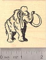 Woolly Mammothゴム製スタンプ( Extinct Megafauna )