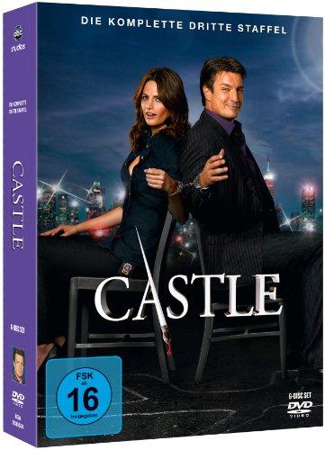 Castle - Die komplette dritte Staffel [Alemania] [DVD]