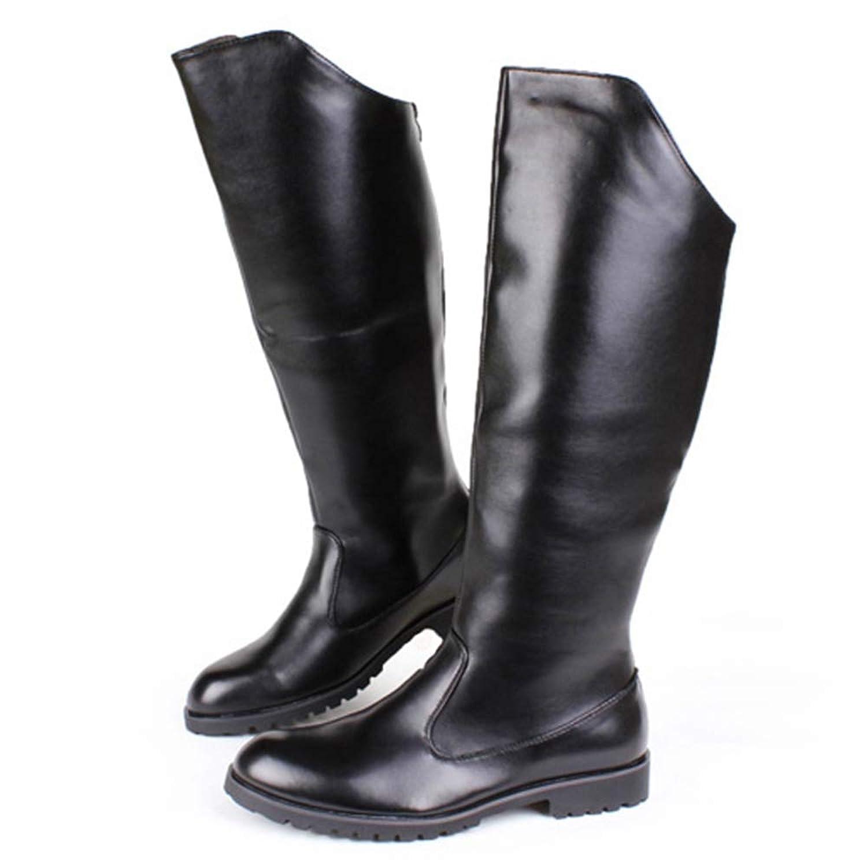 アルファベット順好むスペルロングブーツ メンズ エンジニアブーツ ジョッキーブーツ 歩きやすい 乗馬用 ハイカット 防滑 カジュアル 柔らか カウボーイ 本革 オシャレ 身長アップ ウォーキング 疲れにくい 大きいサイズ 黒 長靴