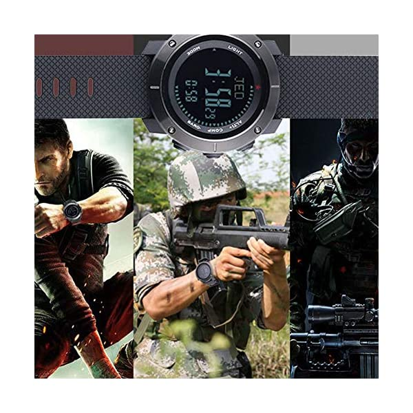 SUNROAD Sports Watch Barometer Compass Impermeable Multifuncional Al Aire
