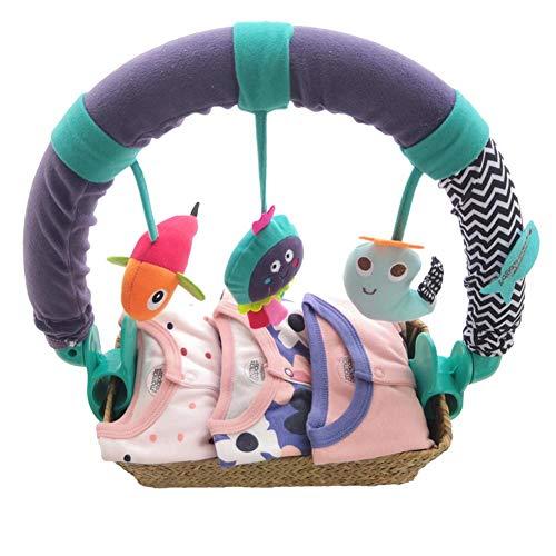 Rich-home Baby Spielzeug Anhänger Spielbogen Spielzeug,Baby hängendes Spielzeug Babybett Anhänger Tierform Spielzeug Krippe Kinderwagen Zubehör für Neugeborene Baby Jungen Mädchen consistent There