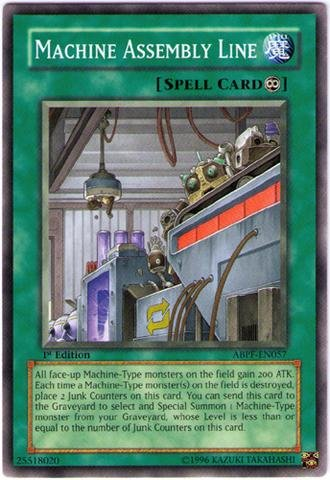 Yu-Gi-Oh! - Machine Assembly Line (ABPF-EN057) - Absolute Powerforce - Unlimited Edition - Common