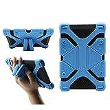 CHINFAI Universal 8 inch Tablet Case, Silicone Protective Cover 7.9'-9' for Galaxy Tab 4 A S2 E/F i r e HD 8 HDX/iPad Mini 1 2 3 4/ AT&T/Verizon/Alcatel/Lenovo 8' Tablet, Blue