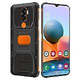 FAR Bison N1 Unlocked Rugged Smartphone 6800mAh Battery 4GB+64GB Unlocked Cell Phones Waterproof Rugged Smartphone Android 10 6.7' High Definition Screen Waterproof Phone