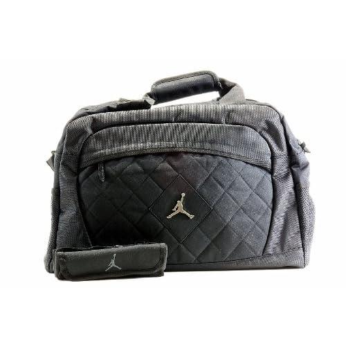e7f51c7a3c Nike Jordan Jumpman Logo Black Medium Duffle Bag