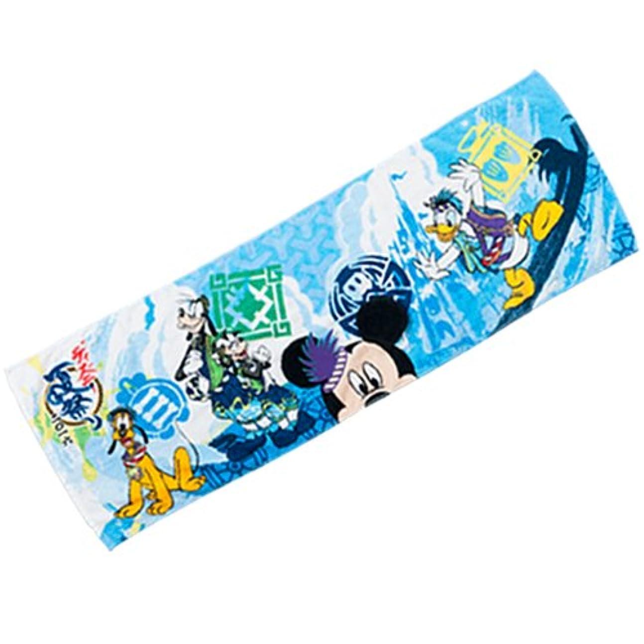 虐待サスティーンこねるミッキーマウス ヘッドタオル ディズニー夏祭り2016【東京ディズニーランド限定】
