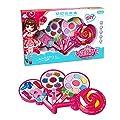 huayu Cosmétiques pour Enfants Princess Makeup Box Set Non-Toxic Girl Lipstick Nail Polish Baby Lip Gloss Toy Set
