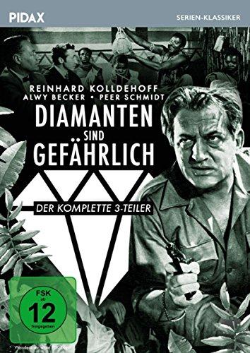 Diamanten sind gefährlich / Der auf Tatsachen beruhende komplette Krimi-Dreiteiler (Pidax Serien-Klassiker)