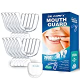 Mouth Guard for Grinding Teeth - Upgraded Dental Guard For Teeth Grinding, Anti Grinding Dental Night Guard, Stops Bruxism, Eliminates Teeth Clenching, Case Include(10PS)